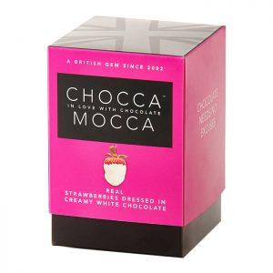 Chocca Mocca Strawberries and Cream 100g