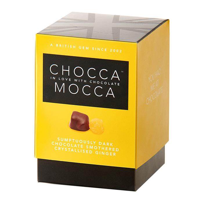 Chocca Mocca Dark Chocolate Coated Crystallized Ginger 100g