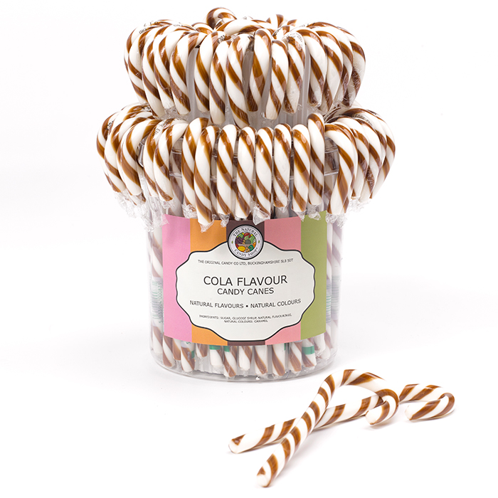 Cola Candy Canes