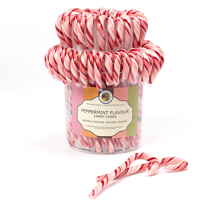 All Natural Peppermint Cane