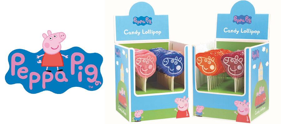 Peppa Pig Lollipop caddies