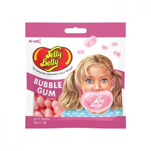 Jelly Belly Bubble Gum flavour grab n' go 70g bag