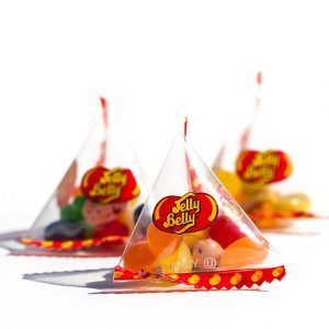 Jelly Belly 10 Assorted Mix Pyramid Bags