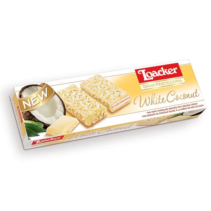 Loacker Patisserie Coconut wafers