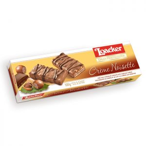 Loacker Patisserie Creme Noisette wafers