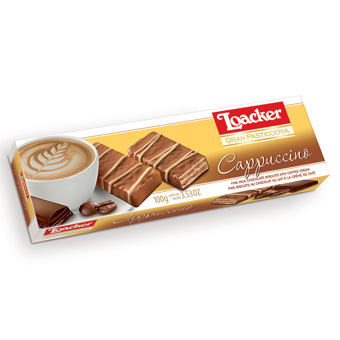 Loacker Patisserie Cappuccino wafers