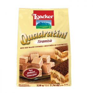Loacker Quadratini Tiramisu wafers