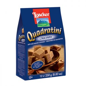 Loacker Quadratini Chocolate wafer