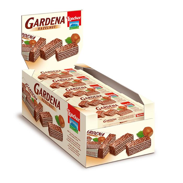 Loacker Gardena 38g wafer Caddy