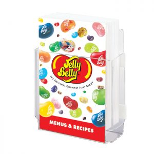 Jelly Belly Menu Holder