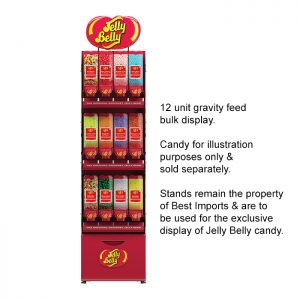 12 Unit Bulk Gravity Feed Modular Stand