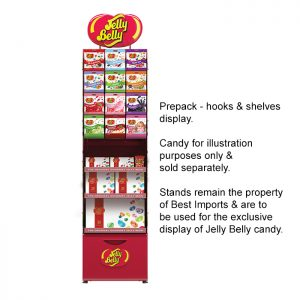 Pre-packs Hooks & Shelves Modular Stand