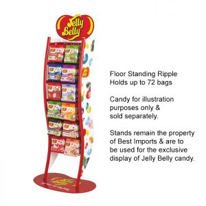 Jelly Belly Ripple stand