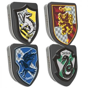 Jelly Belly Harry Potter House Crest Tins