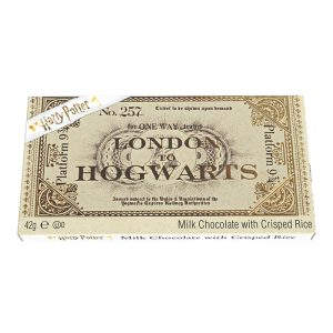 Chocolate Ticket to Hogwarts Bar