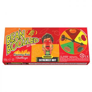 BeanBoozled Flaming Five 100g Spinner Box
