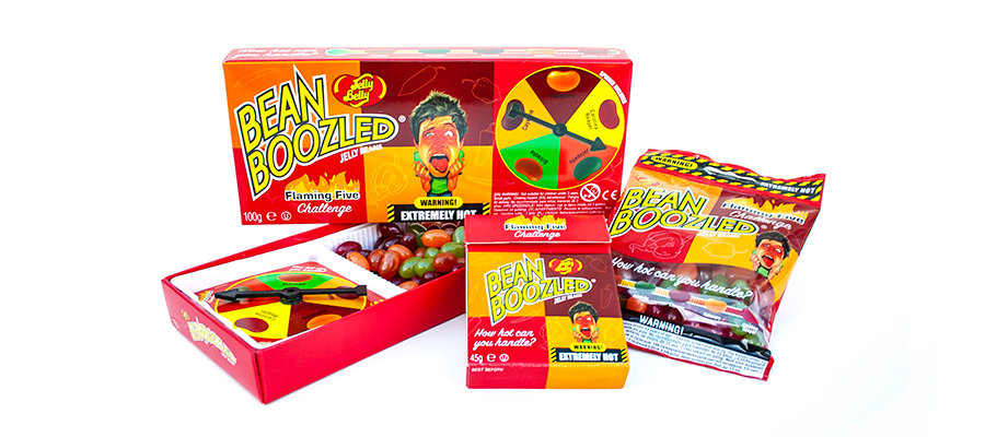BeanBoozled Flaming Five