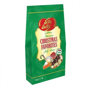 Jelly Belly Holiday Favorites 140g Gable Gift box