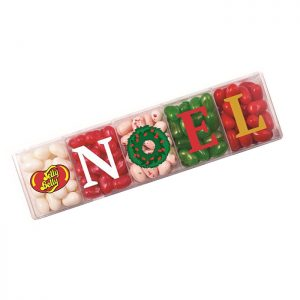 Jelly Belly NOEL Xmas Acrylic gift Box 113g
