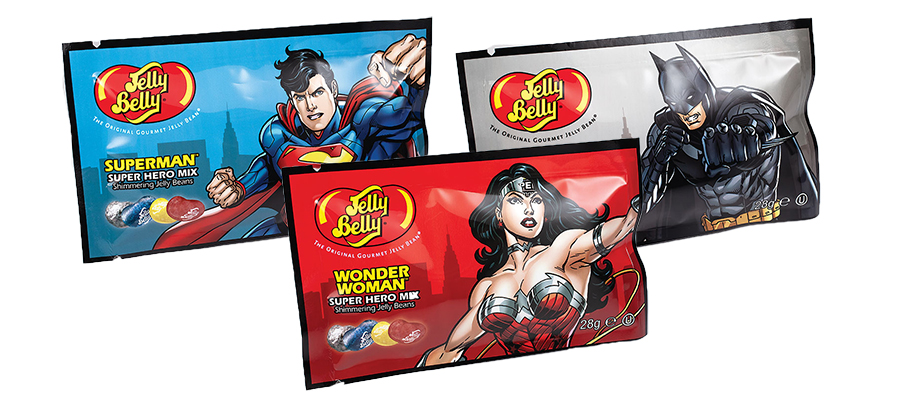 Jelly Belly Super Heroes Bags