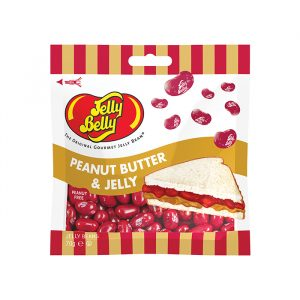 Jelly Belly Peanut Butter and Jelly 70g Bag