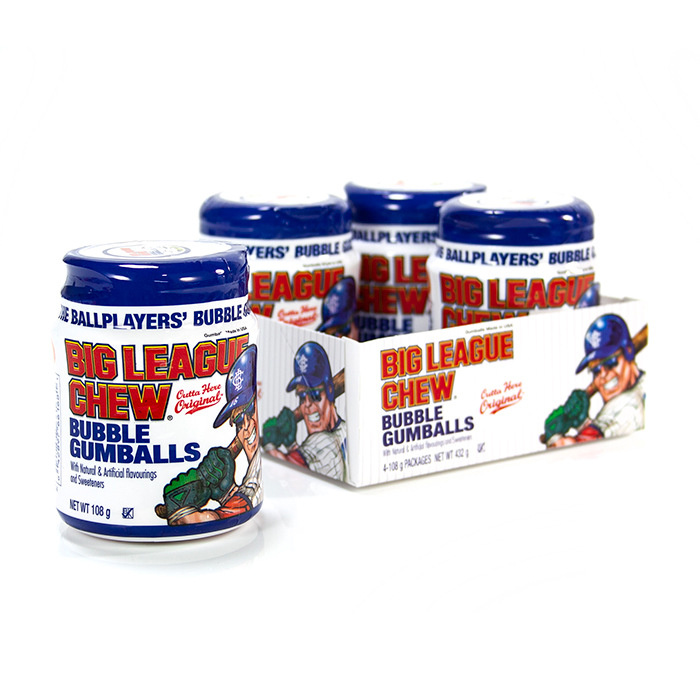 Big League American Bubble Gum Tub
