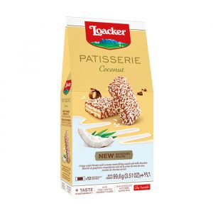 Loacker Patisseria Coconut Wafer