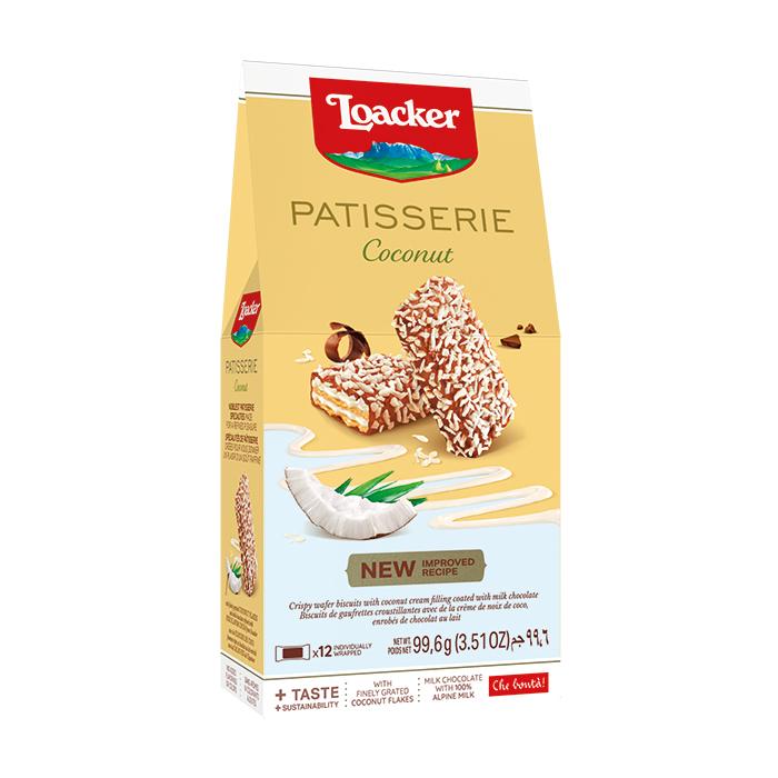 Loacker Patisseria Coconut Wafer