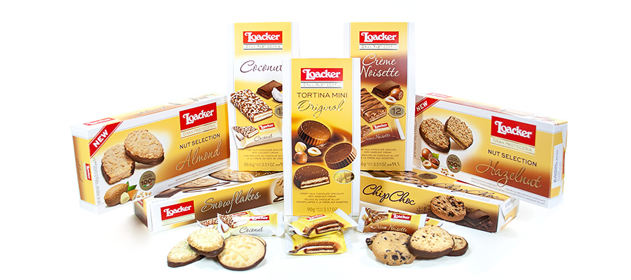 Exquisite New Biscuit Selections from Loacker