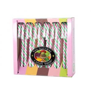 Natural Candy Company Peppermint candy canes 170g